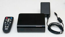 WD TV LIVE STREAMING MEDIA PLAYER with remote & power supply