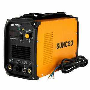 200A TIG Welder MMA/STICK/ARC Welding Machine Inverter DC HF Dual Voltage w/Mask