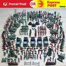 Static Military Figures Model Toy 60 Accessories War Scene Sand Table Plastic Small Soldier Toy Suit For Children Gifts Toys & Hobbies