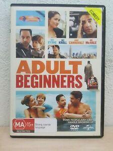 Adult Beginners (DVD, 2015) Reg 4 COMEDY - ROSE BYRNE