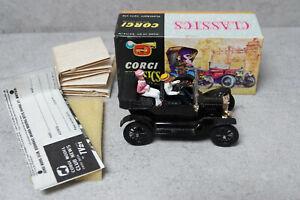 Corgi Classics 9011  1915 Ford Black  Mint Boxed