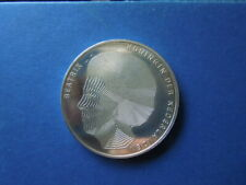 J 492  COIN  NETHERLANDS  1990  LARGE  SILVER  50  GULDEN UNC  DUTCH  KINGS