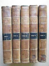 MACARTNEY : VOYAGE DANS L'INTERIEUR DE LA CHINE ET EN TARTARIE, 1798. 5 vol.