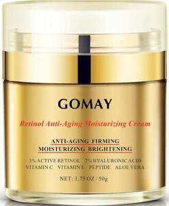 Anti Aging Face Moisturizer Retinol Night Firming Tightening Lotion Cream