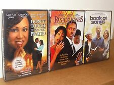 Don't Touch If You Ain't Prayed / Pastor Jones / Book Of Songs (3-DVDS) NEW!
