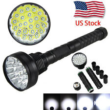 Powerful Vastfire 40000LM 24x XM-T6 LED Flashlight Torch Camping Light 5 Modes
