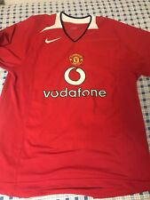 Jersey Nike Manchester United FC Home Size MEDIUM 2004-2006