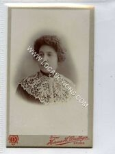 (Ga2227-461) Real Photo CDV by Horace H.Dudley of West Bromwich c1880 EX Lace