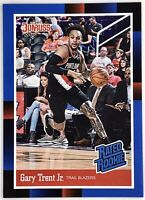 2019-20 Panini Donruss Gary Trent Jr. Rated Rookie RC Portland Trail Blazers📈🔥