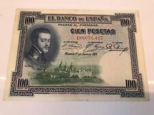 New listing 1925 Spanish Currency, Cien Pesetas, El Banco de Espana