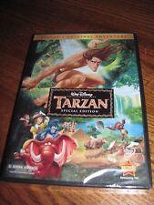 TARZAN: Disney) Minnie Driver, Tony GoldwynDVD,1999 Animated) NEW; I Ship Fast