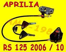 SERRURE ORIGINAL OUVERTURE SELLE APRILIA RS 125 À PARTIR DE 06 AL 10 AP8104995