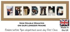 Wedding Photo Frame Word Frame Picture Gift by Photos in a Word