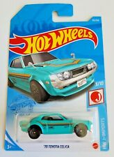 Hot Wheels '70 Toyota Celica Metalflake Teal #151 151/250 2021 HW J-Imports 3/10
