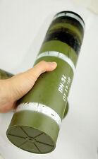 rocket missile case EDC Survival Case waterproof Tube time Capsule hermetic