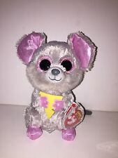 "TY SQUEAKER MOUSE 6"" BEANIE BOOS-NEW, MINT TAG *IN HAND* SUPER CUTE**PLEASE READ"