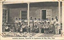 PERU ETEN INDUSTRIA NACIONAL TEJEDORES DE SOMBREROS DE PAJA 5302