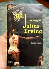 Dr. J - The Story of Julius Erving Joe Gergen 1975 NY Nets 1st Printing PB