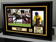 Mick Kinane Sea The Stars  Limited Edition Framed Canvas  Print Signed