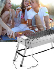Foldable USB Electric BBQ Charcoal Grill Automatic Flip Folding Barbecue Stove