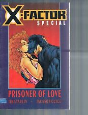 X-Factor Special: Prisoner of Love by Jim Starlin & Butch Guice 1990 PF Marvel
