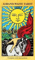 Albano Waite Tarot Cards Deck Vintage-Style 1960s Psychedelic Vibrant Colors
