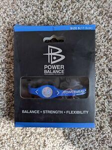 New, Original Power Balance Energy Health Band Bracelet, Medium Blue