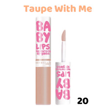 Maybelline Baby Lips Moisturising Lip Gloss NEW Choose your Shade