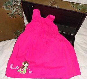 Gymboree Floral Mermaid Outlet Pink Dress Size 18-24 months *