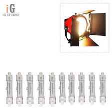 10pcs Red Head Light Bulb Tungsten Lamp 800w 110v 3200K for Red Head Light