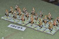 25mm WW1 / british - infantry 18 figures - inf (13639)