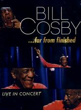 NEW COMEDY DVD // BILL COSBY // ... FAR FROM FINISHED // LIVE IN CONCERT