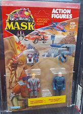 MASK M.A.S.K. Kenner vintage Matt Trakker Miles Mayhem 2-pack AFA 85