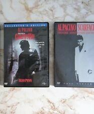 Al Pacino DVDs : Carlito's Way collector's. ScarFace 2Discs