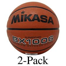 Mikasa Sports Bx1006 Elementary Rubber Basketball, Size 4 (Pack of 2)