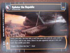 Star Wars TCG AOTC x4 Splinter the Republic