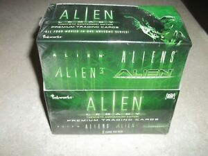ALIEN LEGACY FACTORY SEALED TRADING CARD BOX NM 1998 ALIEN MOVIES