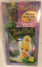 Tinker Bell dvd & book light set (DVD, 2008) brand new-sealed (DISNEY COLECTABLE