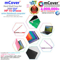 """NEW mCover® Hard Shell Case for 2020 15.6"""" HP 15-DYxxxx Notebook Computer"""