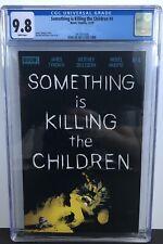 SOMETHING IS KILLING THE CHILDREN #4, CGC 9.8, 1ST PRINT, Low print run Netflix