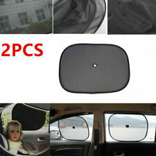 2PCS Car Sunscreen Sunshades Side Window Black UV Protection Mesh Baby Seat