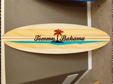 5' wall hanging surf board surfboard decor hawaiian beach surfing