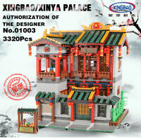 XingBao Building Blocks Toys China Building Architecture Brothel Model 3320PCS