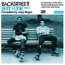 Various Artists : Backstreet Brit Funk - Part One: Compiled By Joey Negro -