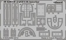 Eduard 1:48 CF-5A/CF-116 Interior S.A. Color PE Detail Set for Kinetic #49620