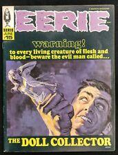 EERIE WARREN 1968 #15 GLOSSY F/VF DOLL COLLECTOR,WOLFDOG,JEFF JONES,DEMONS