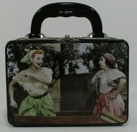 I Love Lucy Metal Tin Collector's Lunch Box Container .