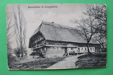 AK Langackern 1905-15 Bauernhaus Bauernhof Haus Gebäude Weg Bäume Horben W7