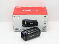 CANON LEGRIA HF R67 CAMCORDER BOXED 8GB FLASH MEMORY / CARD WIFI 1080P HD VIDEO