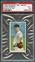 1909-11 T206 Piedmont John McGraw New York Giants GLOVE AT HIP PSA VG+ 3.5 !!!